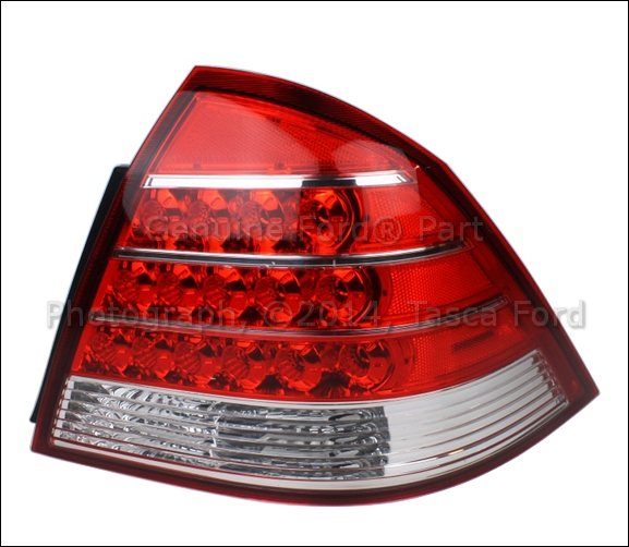 Aftermarket Ford Parts New RH Right Passenger Side Rear Tail Lamp Light 2005 2007 ...