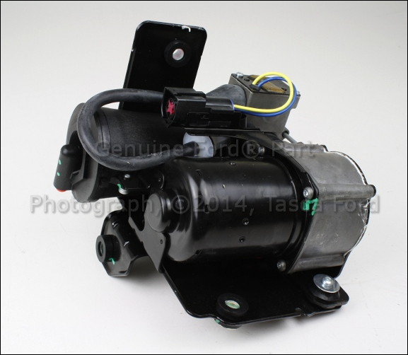 2012 Lincoln Navigator L Suspension: NEW OEM AIR SUSPENSION COMPRESSOR 2007-2012 LINCOLN