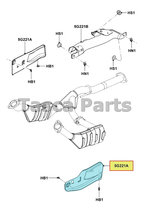 ford ranger catalytic converter replacement