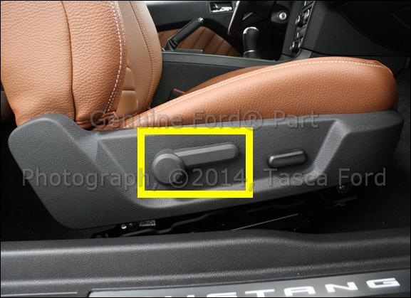 OEM RH PASSENGER SIDE FRONT SEAT BACK ADJUSTMENT HANDLE 2005-2013 FORD MUSTANG