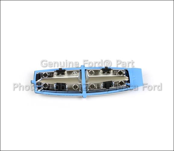 Lincoln Mks Parts: BRAND NEW OEM LH DRIVERS SIDE FENDER EMBLEM 2009-2012