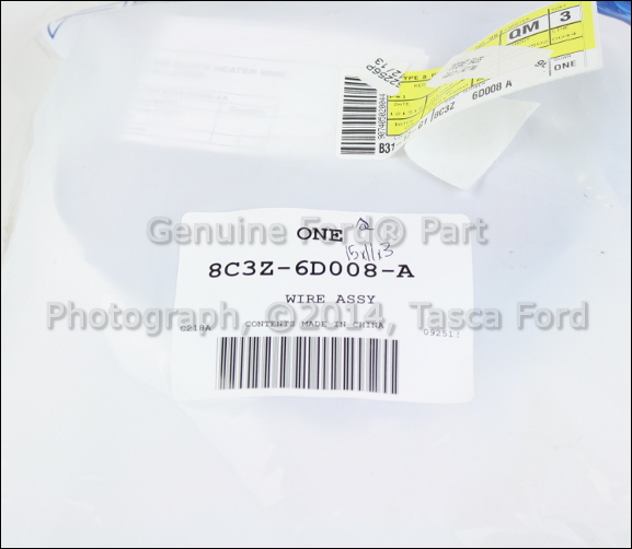 new oem block heater wiring harness ford f f f new oem block heater wiring harness 2008 2010
