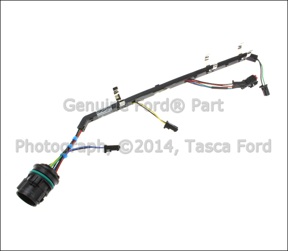 new oem rh fuel injector wiring harness 2008 2010 ford f. Black Bedroom Furniture Sets. Home Design Ideas