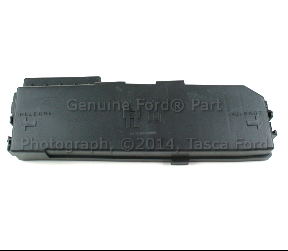 new oem engine compartment fuse panel top cover ford. Black Bedroom Furniture Sets. Home Design Ideas