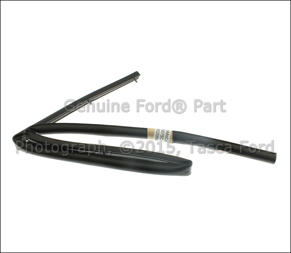 New Cowl Panel Water Splash Shield Weatherstrip Ford