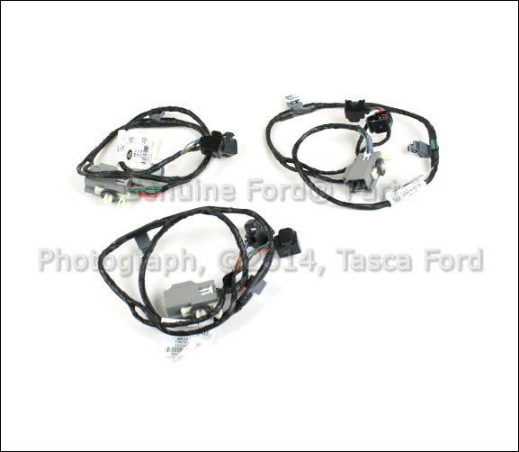 new oem ambient lighting cup holder wire harness 2008