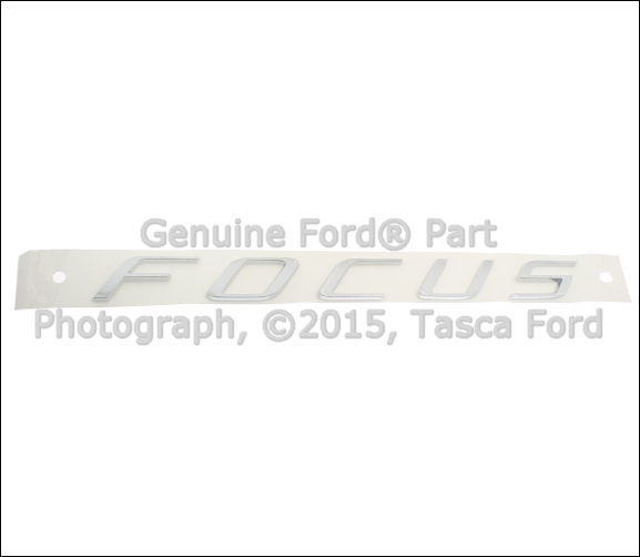 BRAND NEW FORD FOCUS OEM NAME PLATE EMBLEM #8S4Z-5442528-AA