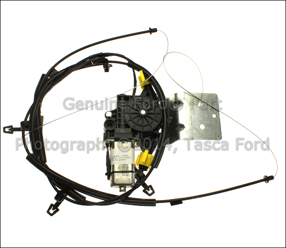 Details about new oem rear power sliding window motor 2008 for 04 f150 window regulator replacement