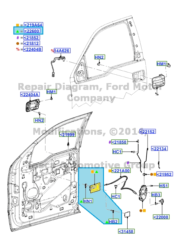 New oem lh inside door handle 2009 2013 ford f 150 ebay - 2013 ford f 150 interior accessories ...