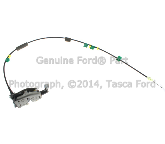 LOWER LH SIDE DOOR REMOTE CONTROL CABLE & LATCH 2009 2013 FORD F 150