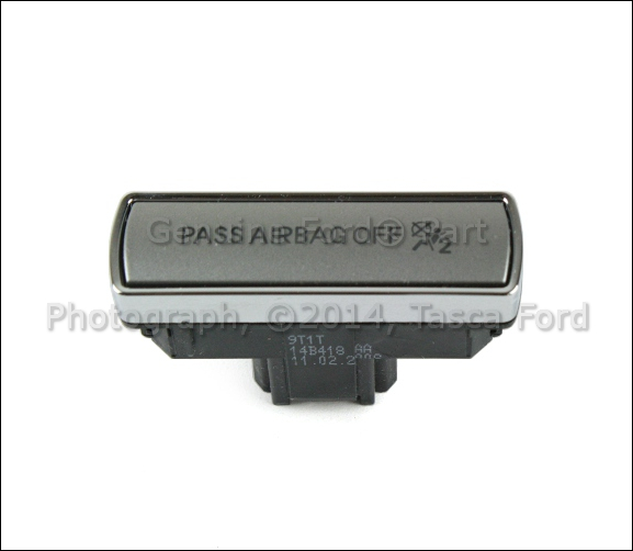BRAND NEW OEM PASSENGER AIRBAG DEACTIVATION SWITCH 2010