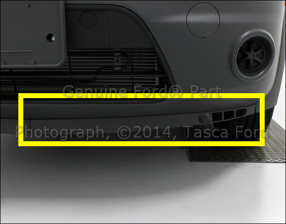 NEW OEM LEFT SIDE FRONT BUMPER STONE DEFLECTOR 2010-2013 FORD TRANSIT CONNECT
