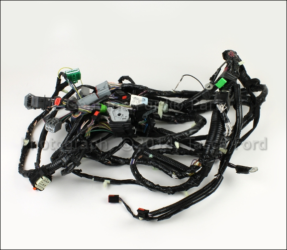 brand new ford edge oem main dash wire harness #9t4z-14401 ... scosche wiring harness for ford wiring harness for ford edge