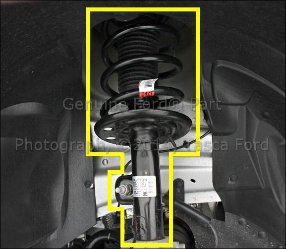 2014 Lincoln Mks Suspension: BRAND NEW OEM FRONT RH SIDE SUSPENSION SHOCK ABSORBER 2010