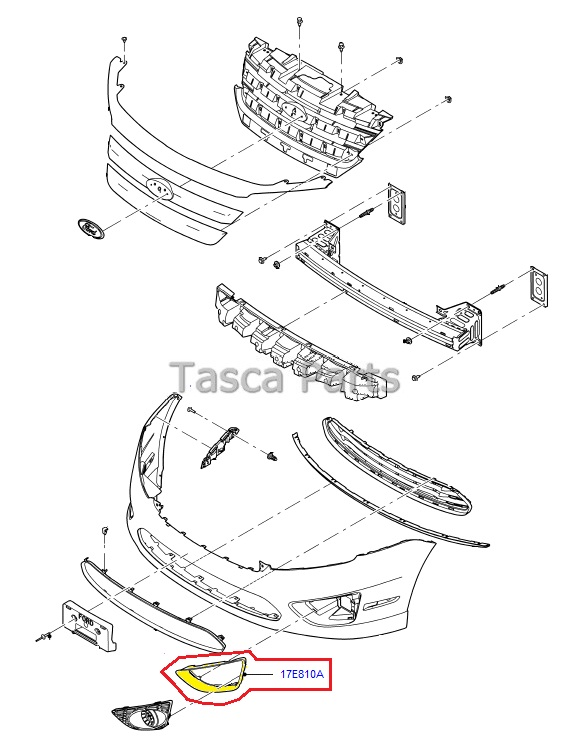 bezel ford fusion parts diagram  ford  auto wiring diagram