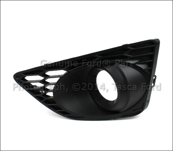 New Oem Black Lh Driver Side Fog Light Bezel Cover Housing