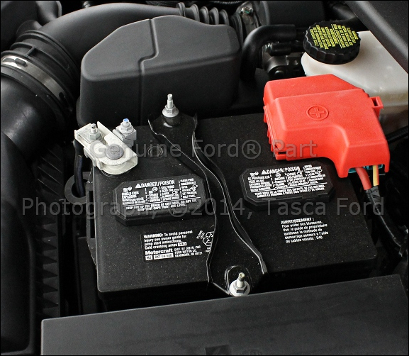 NEW OEM BATTERY HOLD DOWN CLAMP 2009-2015 FORD LINCOLN MERCURY #AG1Z-10756-B