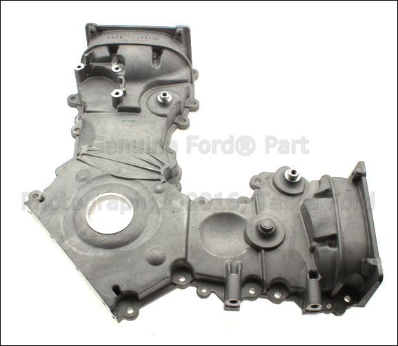 new oem engine timing gear cover 6 2l v8 2011 2013 ford f250 f350 f450 f550 ebay. Black Bedroom Furniture Sets. Home Design Ideas