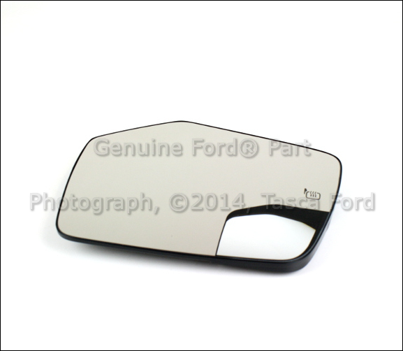 New Oem Left Exterior Side View Mirror Glass 2010 12 Ford