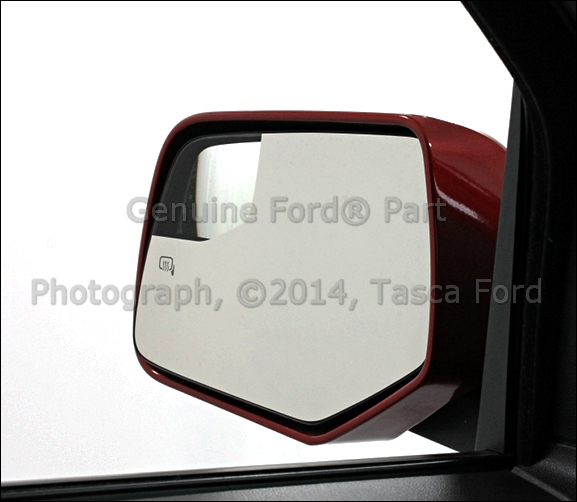 NEW OEM LEFT EXTERIOR SIDE VIEW MIRROR GLASS 2010-12 FORD ESCAPE MERCURY MARINER