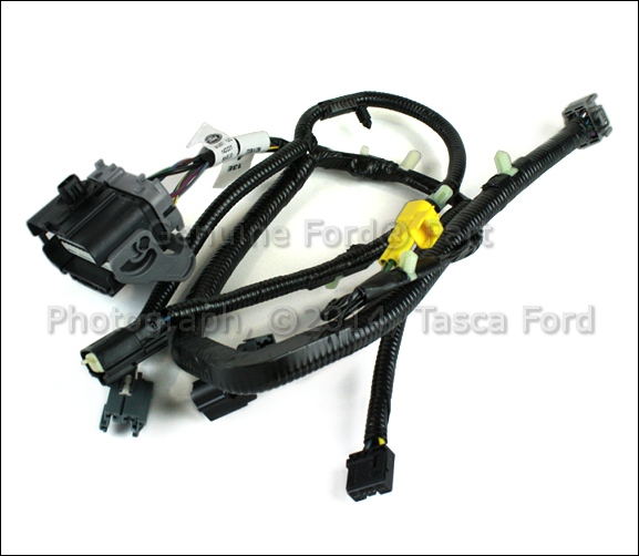 new oem lh front power seat adjuster wiring harness explorer taurus flex f150