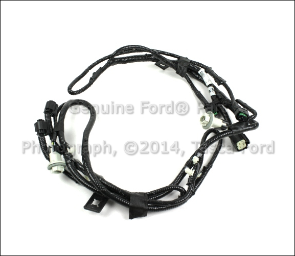 new oem rear bumper parking aid wiring harness 11