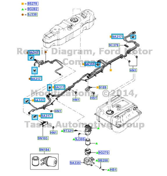 ford f 250 fuel tank diagram ford gas tank parts
