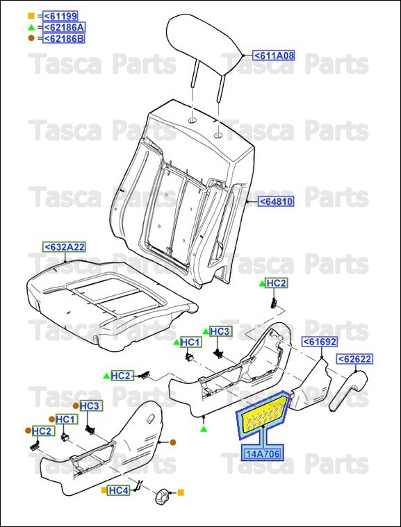 Brand New Oem Front Seat Side Valance 2011