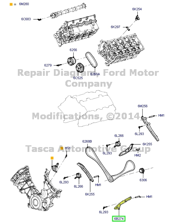 brand new oem timing belt guide disc 2011