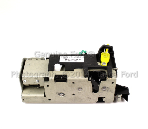 Service Manual [2011 Ford Transit Connect Windshield Latch