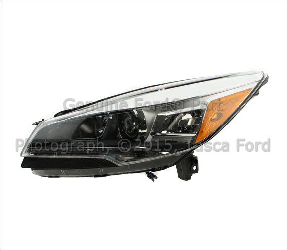 new oem lh drivers front flasher xenon headlamp headlight. Black Bedroom Furniture Sets. Home Design Ideas