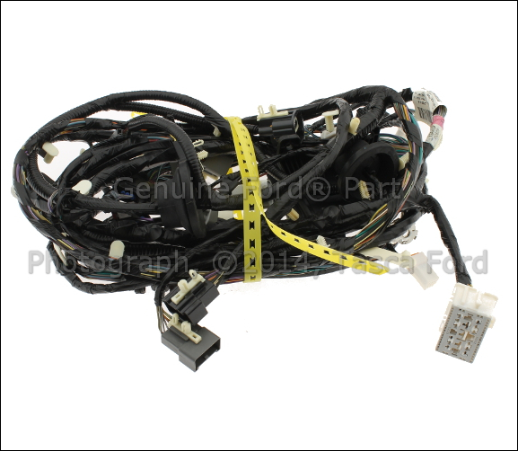 new oem rear bumper wiring harness 2012 2014 ford. Black Bedroom Furniture Sets. Home Design Ideas