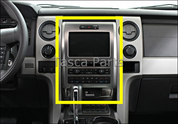 Brand New Dark Galvano Instrument Trim Panel 2012 Ford