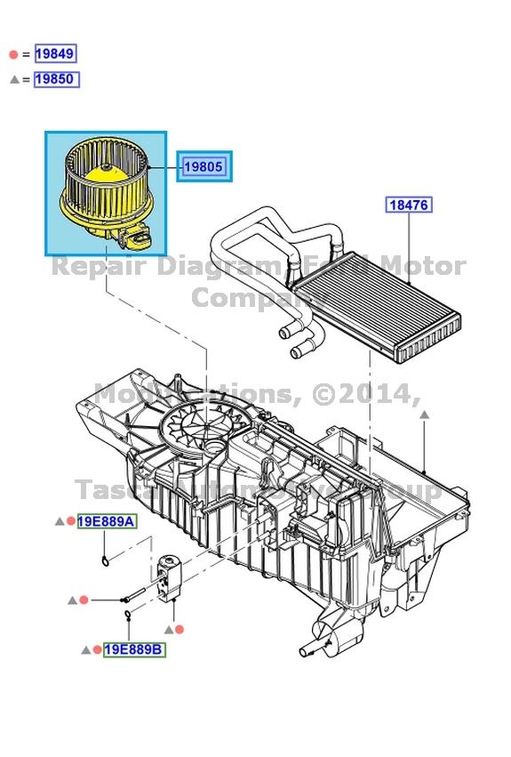 Service manual 2012 ford taurus blower motor replacement for 2009 ford escape blower motor replacement