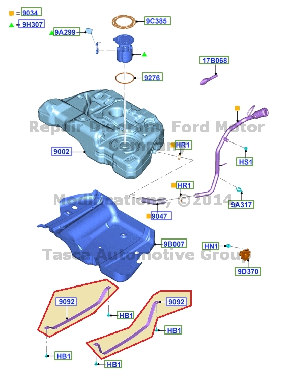 2014 ford fusion gas tank size. Black Bedroom Furniture Sets. Home Design Ideas