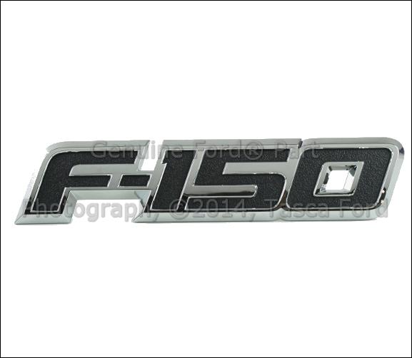 NEW OEM LEFT SIDE LH FRONT FENDER F150 BADGE EMBLEM 2013-2014 FORD F150 LIMITED