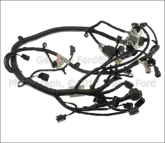 Brand New Genuine Ford Oem Engine Wiring Harness  Du5z12a581ea