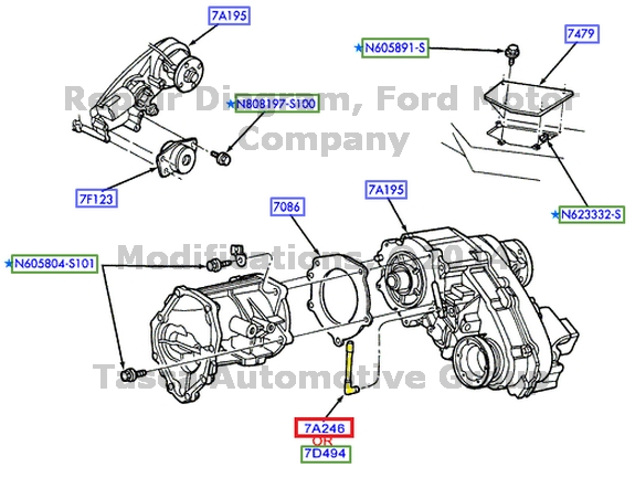what is this hose from the transfer case to ford truck besides new oem transmission vent tube ford lincoln   mercurty as well apparant missing vent tube from transfer case your imput please likewise the vent that sucks water automotive service professional in addition 5r110 transmission help ford powerstroke diesel forum. on super duty transmission vent tube location