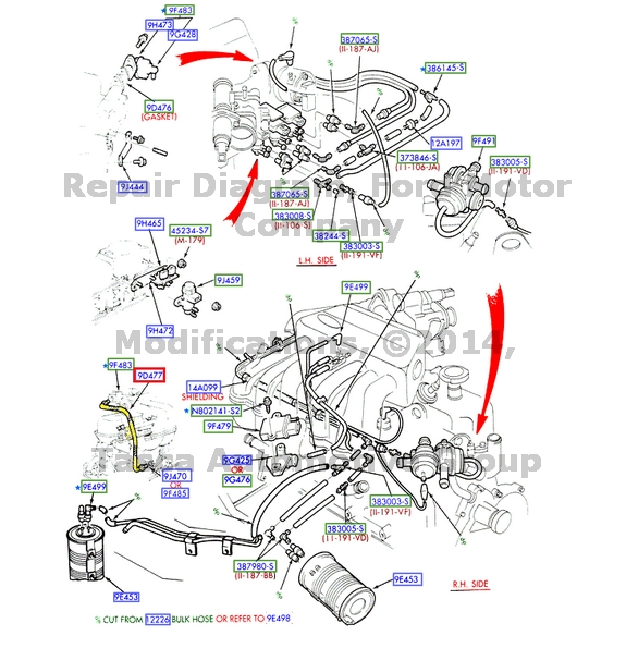 on 1995 Ford F 150 6 Cylinder Engine