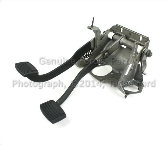 Ford Clutch Assembly : Ford f clutch pedal assembly