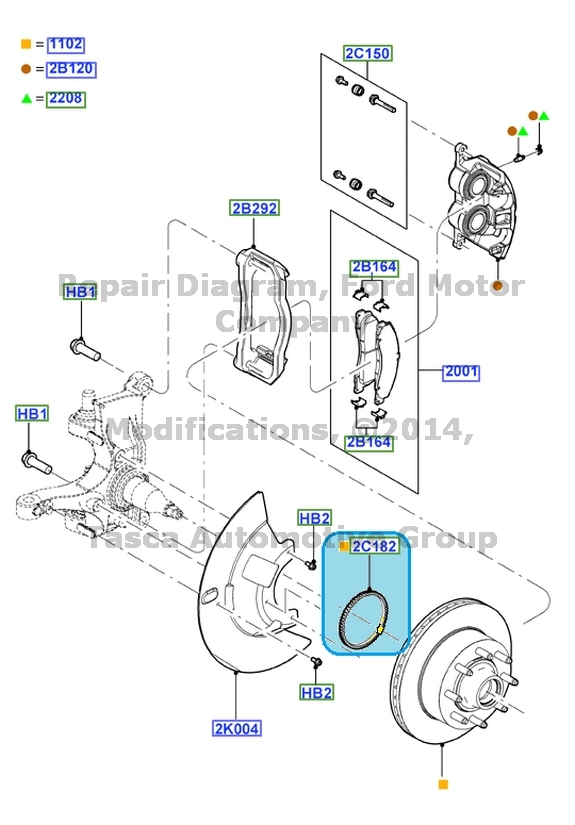 BRAND NEW OEM FRONT BRAKE ABS INDICATOR ASSEMBLY FORD ECONOLINR E450 F SERIES SD
