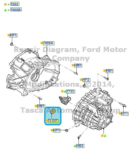 1995 Ford Escort Oils, Fluids, Lubricants CARiDcom