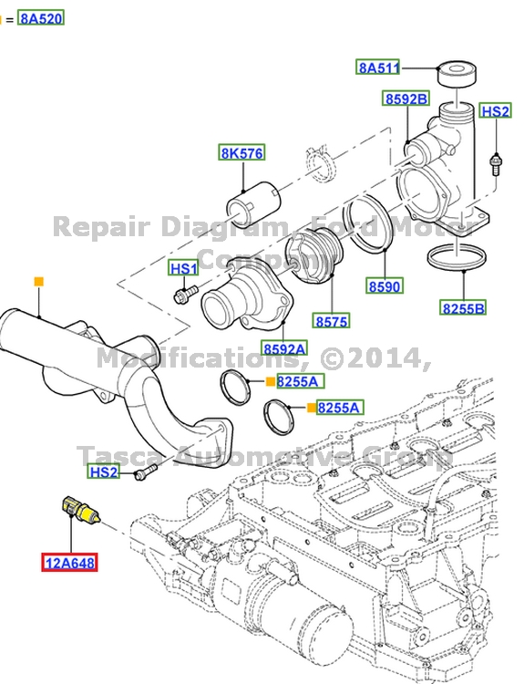 T13247480 99 ford 7 3 diesel temperature sending further 3jmwn Tow Light Flashing F250 Super Duty When Starts furthermore Chevrolet Impala Mk8 Eighth Generation 2000 2006 Fuse Box Diagram furthermore Toyota Sequoia Cabin Filter Location moreover 232211077911. on lincoln ls temp sensor