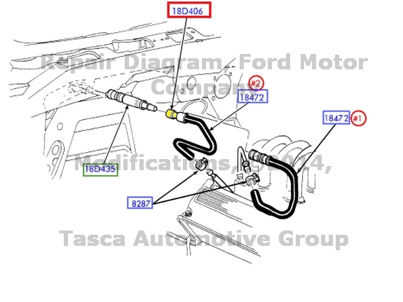 2001 chevy 8 1 engine diagram
