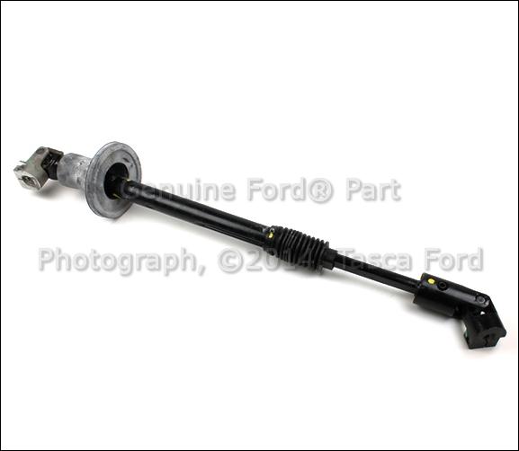 brand new ford oem lower steering column shaft assembly