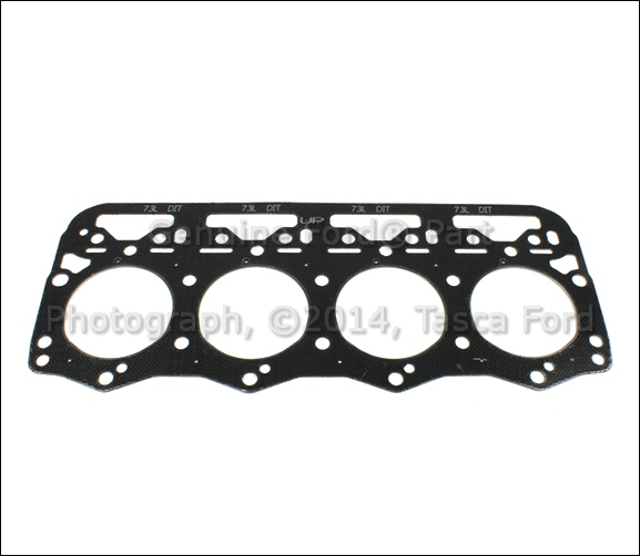 Ford 4 6 Cylinder Head Replacement: BRAND NEW OEM CYLINDER HEAD GASKET 8 CYL. 7.3L FORD SERIES