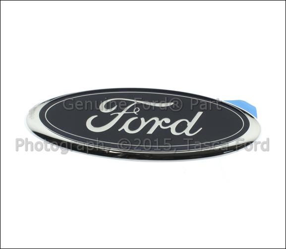 New oem ford oval rear emblem f150 f250 f350 f450 f550 for 1998 ford f150 rear window replacement