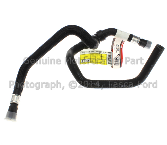 NEW OEM HEATER CORE OUTPUT HOSE 1999-2002 FORD EXPEDITION LINCOLN ...