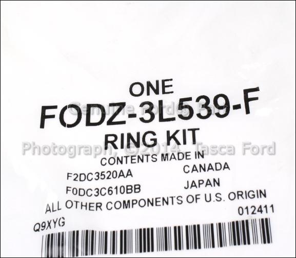 new oem upper steering column bearing thrust ring 1990