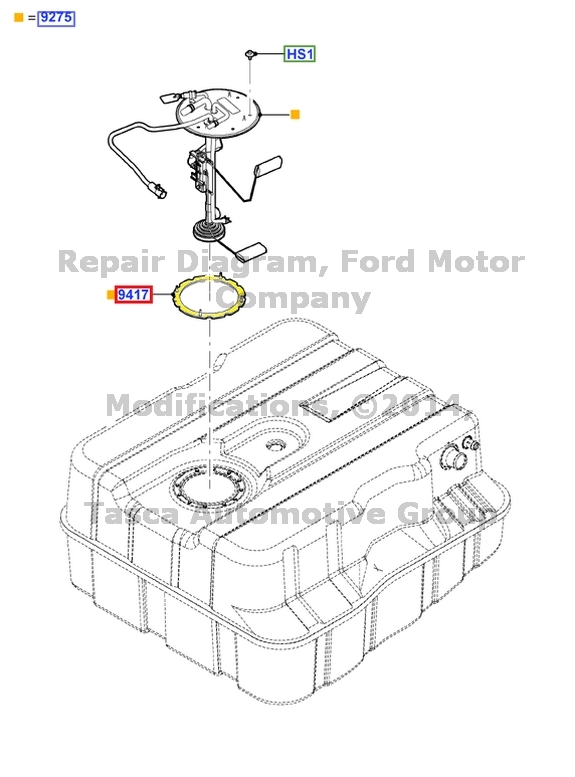 1999 Ford F350 Fuel Filter Location